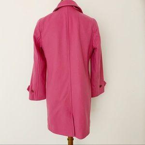 J. Crew Jackets & Coats - J Crew Pink Wool Coat
